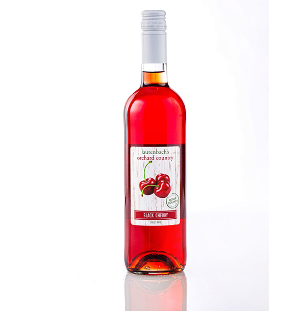 Black Cherry Wine - Orchard Country Bottle