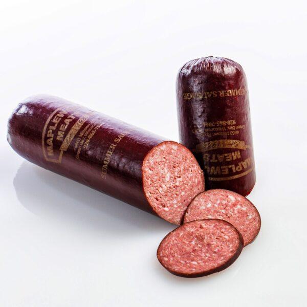 Maplewood Meats Original Summer Sausage - 23oz-0