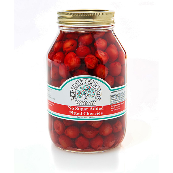 Pitted Cherries without Sugar-Seaquist Jar