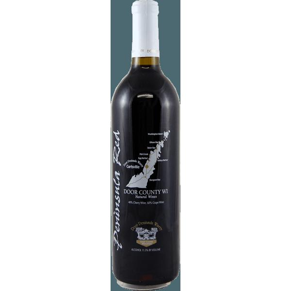 Peninsula Red - Door Peninsula Bottle