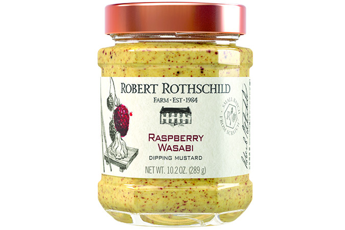 Raspberry Wasabi Dipping Mustard - Robert Rothschild-0