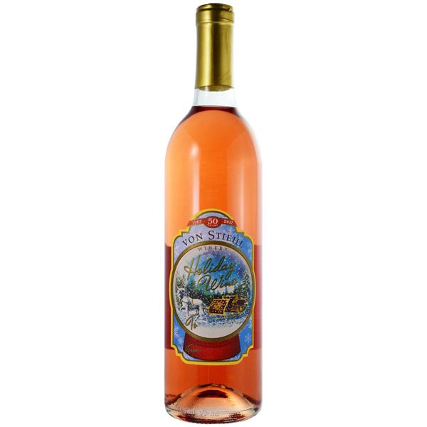 Holiday Wine - Von Stiehl Bottle